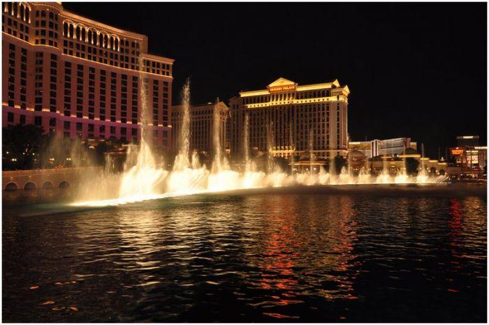 Las Vegas Foto – Een stad midden in de woestijn.