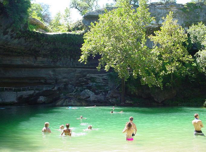 Hamilton Pool – Texas – Een verborgen schoonheid!