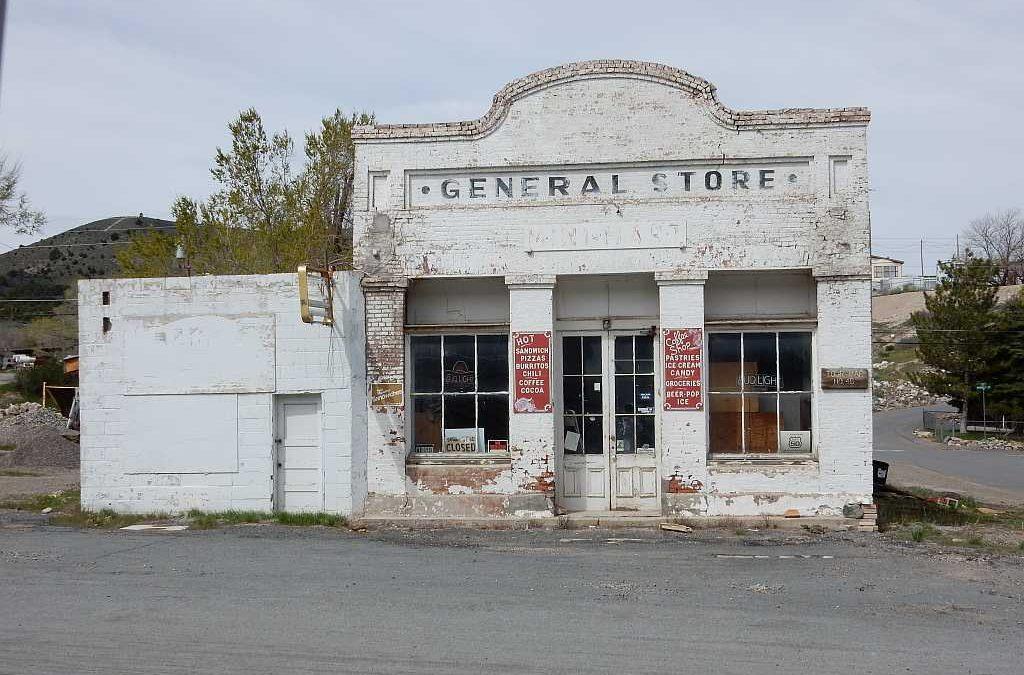 Eureka en Austin, toonbeeld van verloedering – Nevada