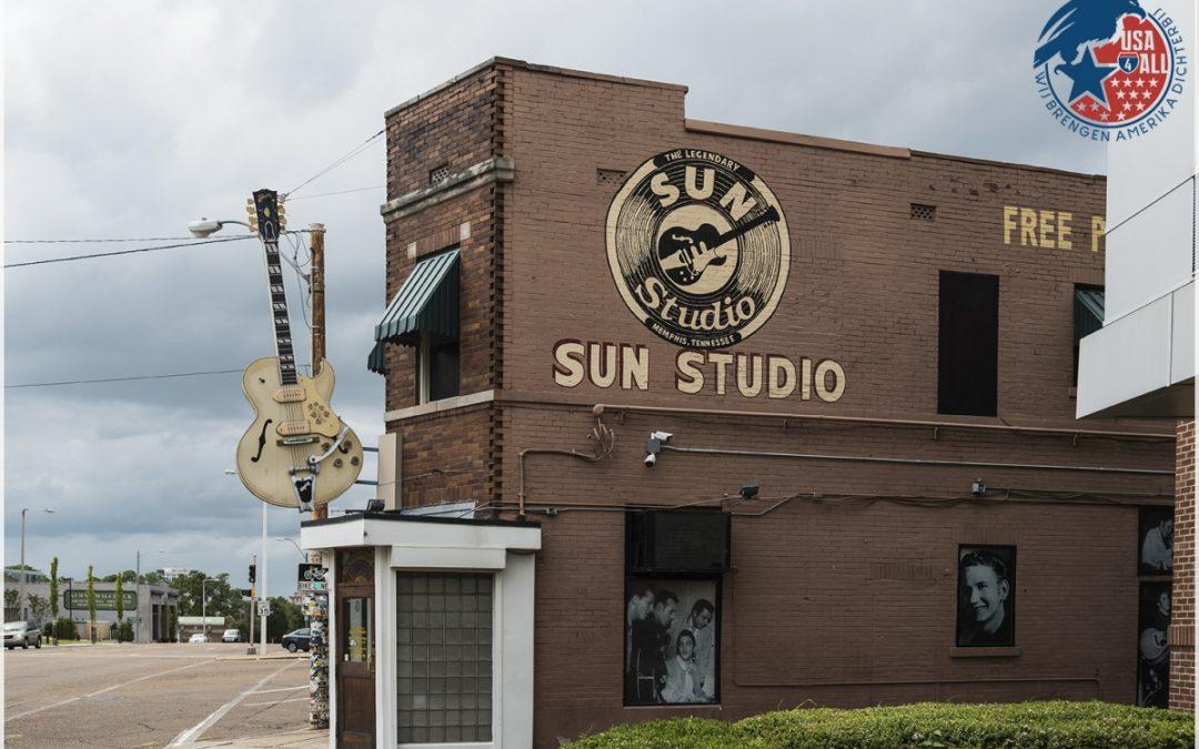 The Sun Studio – Memphis – Hier zijn wereldsterren ontdekt!