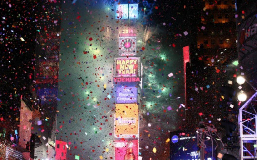 Times Square New Year's Eve – Het geheim van de confetti