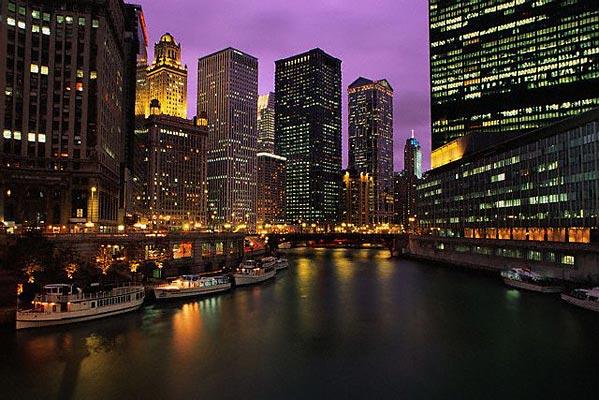 Chicago – Illinois – The windy city aan Lake Michigan!