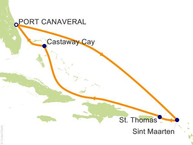 Beoordeling: Caribbean Cruise on Disney Fantasy