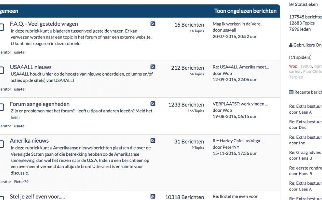 Amerika Forum – Tips & informatie!