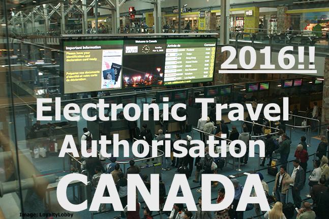 eTA-aanvraag Canada verplicht per 15 maart 2016