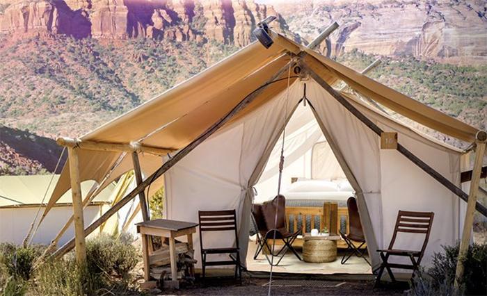 Luxe kamperen in Zion? Het kan nu! – Glamping!